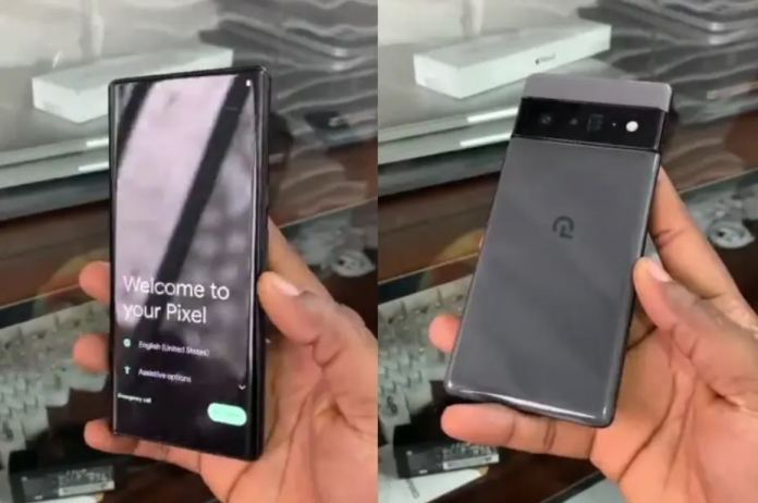 Google Pixel 6 Pro hands-on Video Leaked