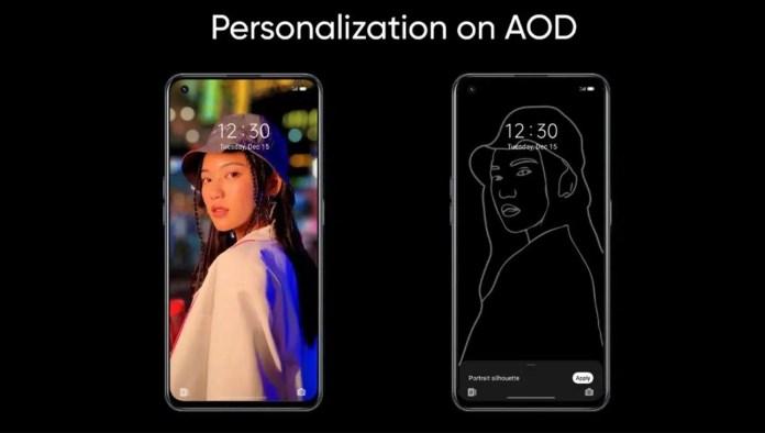 realme ui 3.0 personalized aod
