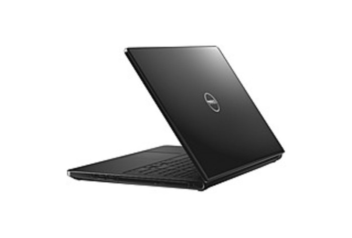 The Dell Inspiron 15 5000 Series I5555-0000BLK Laptop PC has everything you need to compute on the go. Microsoft Windows 8.1 lets you complete any task. There's plenty of room on the 1 TB hard drive to store your work and personal files. See what you're doing in excellent 720p HD resolution on the large 15.6-inch display. Video chat with friends and family or take and share selfies on social media with the built-in 720p HD webcam.