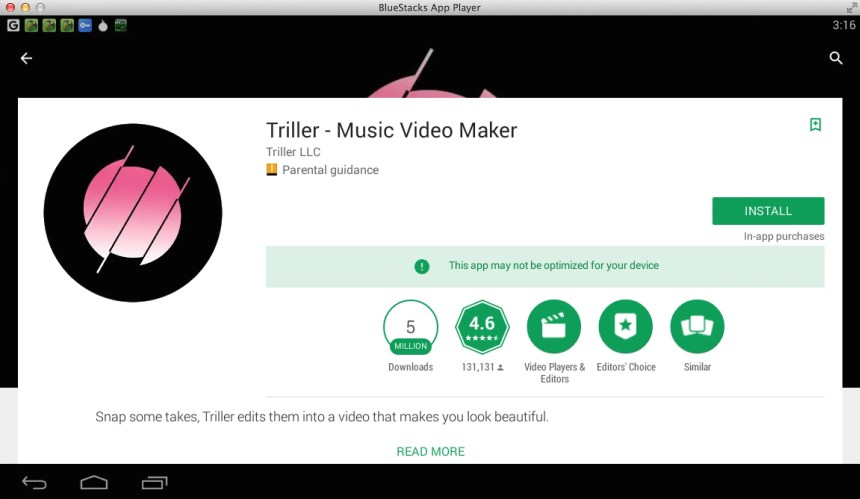 triller-for-windows-mac-using-bluestacks