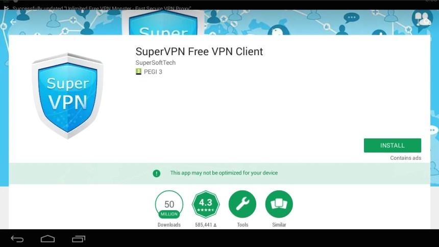 SuperVPN for PC / Mac / Windows 7 8 10 / Mac / Computer - Free