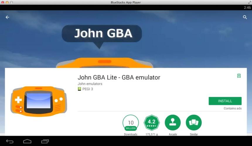 Download John GBA Lite - GBA emulator for PC - Techforpc com