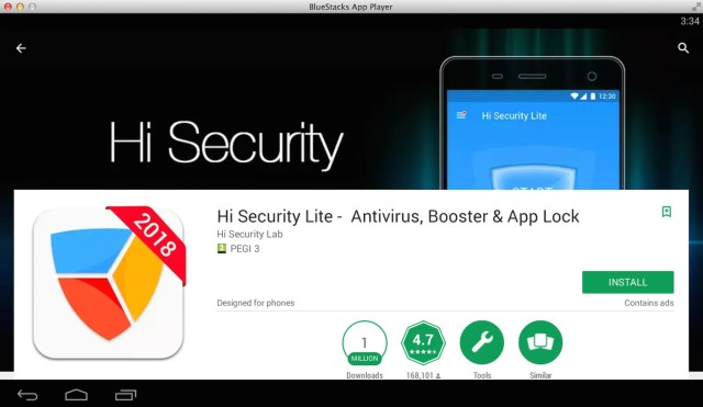hi-security-on-pc-using-bluestacks