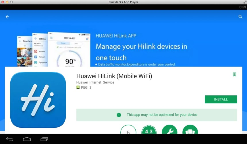Huawei HiLink (Mobile WiFi) for PC and Mac - Desktop and