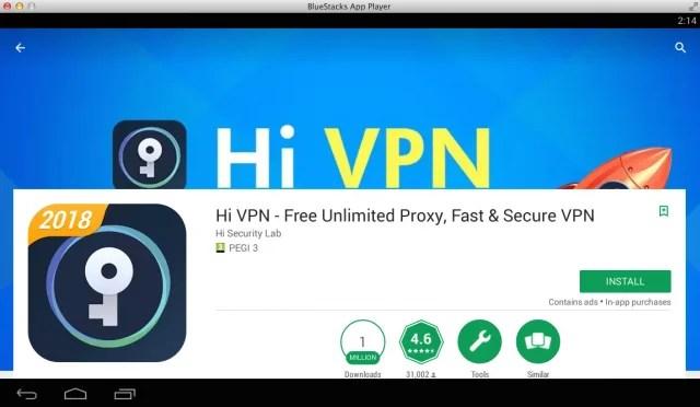hi-vpn-for-pc-using-bluestacks-emulator