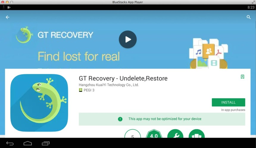 Download GT Recovery for PC - Windows 7, 8, 10, Mac