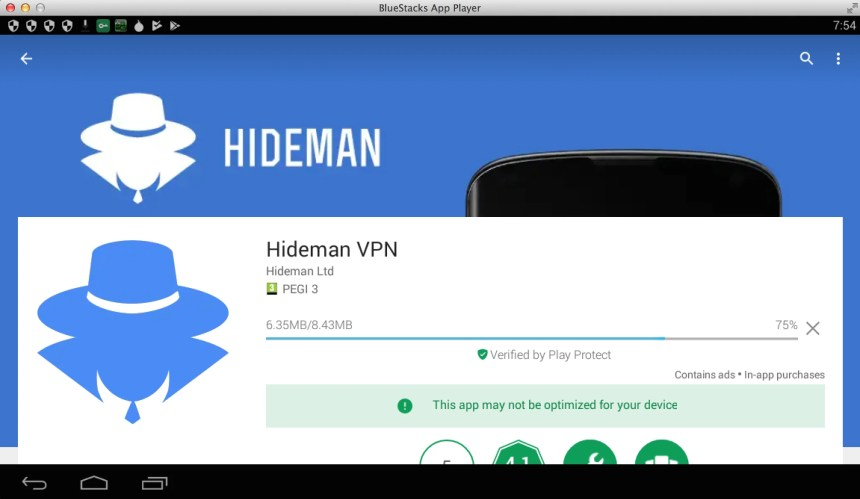 hideman-vpn-for-pc-bluestacks