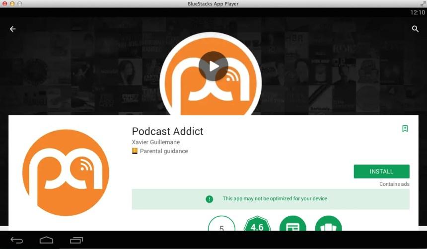 Podcast Addict Pc