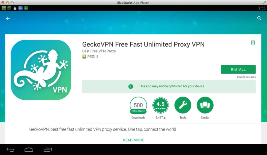Download and Install GeckoVPN for PC – Windows 7, 8, 10 & Mac