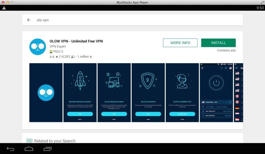OLOW-VPN-DOWNLOAD-ON-PC-VIA-BLUESTACKS