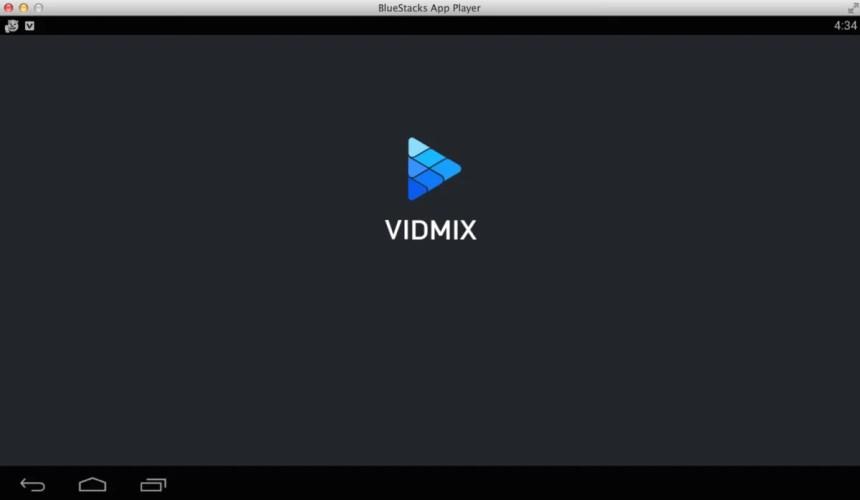 install-vidmix-app-for-pc-bluestacks-android-emulator