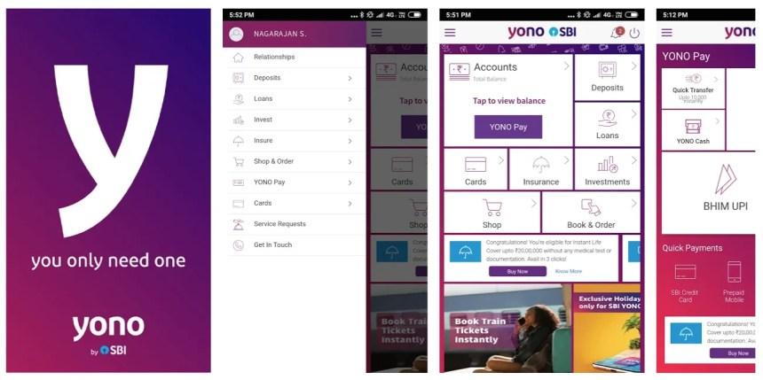 yono-sbi-app-screenshots