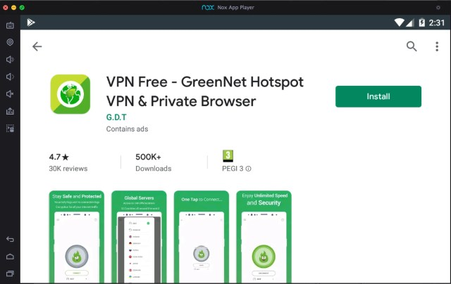 greennet-vpn-download-for-pc-with-nox-app-player