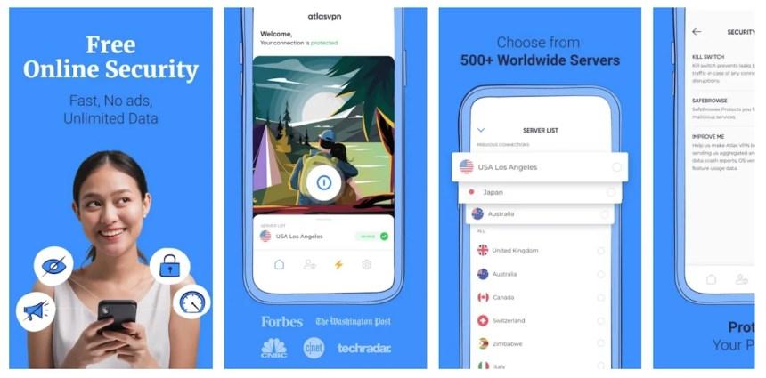 atlas-vpn-app-screens