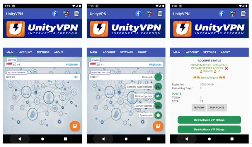 unityvpn-app-android-screenshots