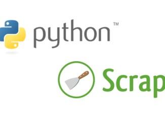 scrapy python