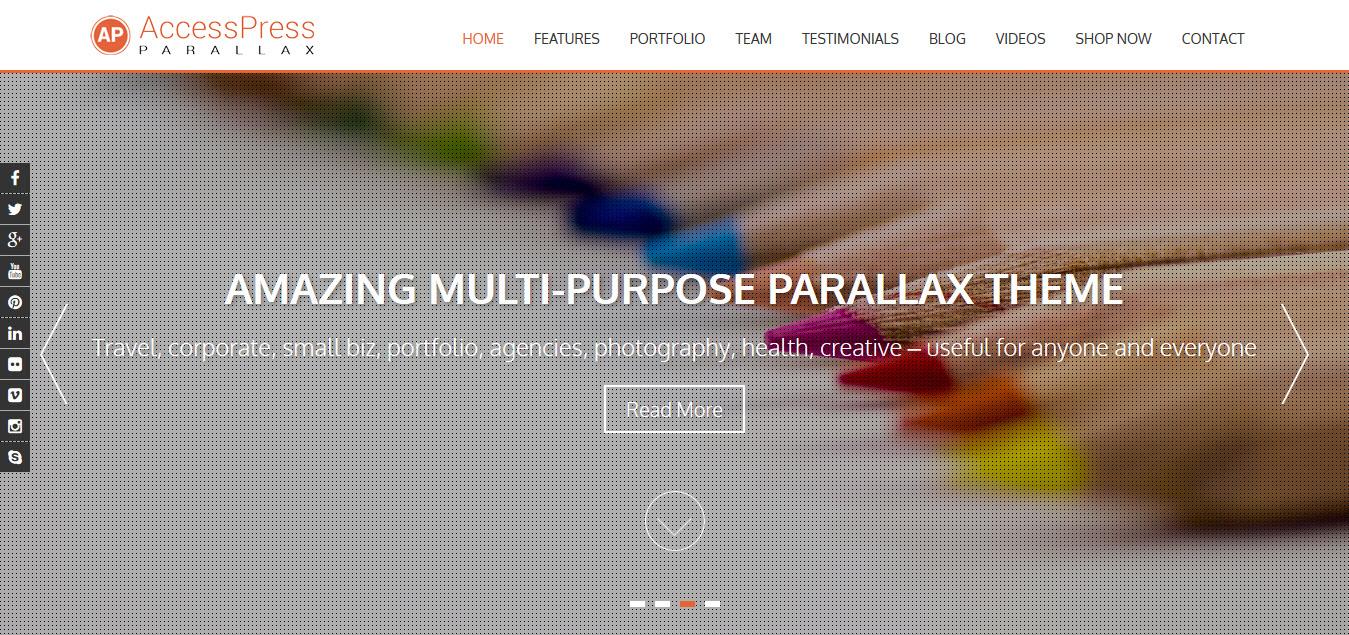 accesspress-parallax