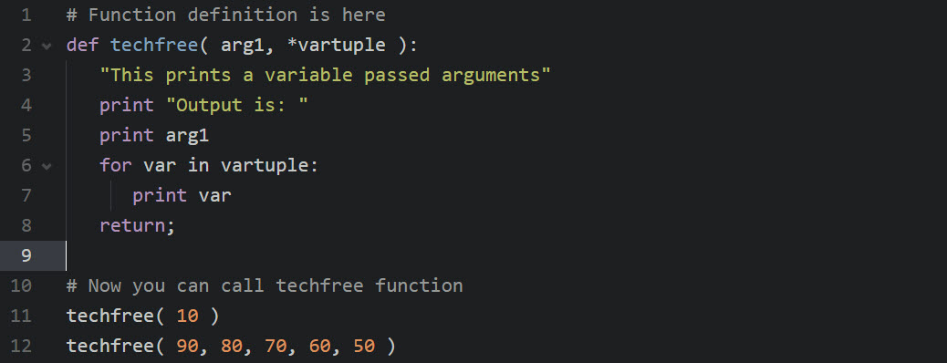 variable-length-arguments