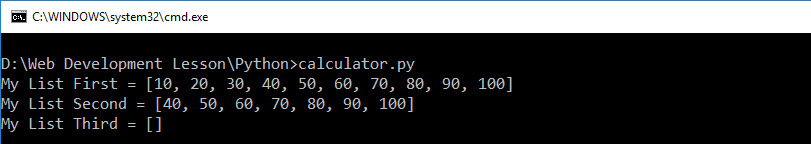 lsit_delete_python_result