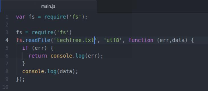 nodejs-readfile