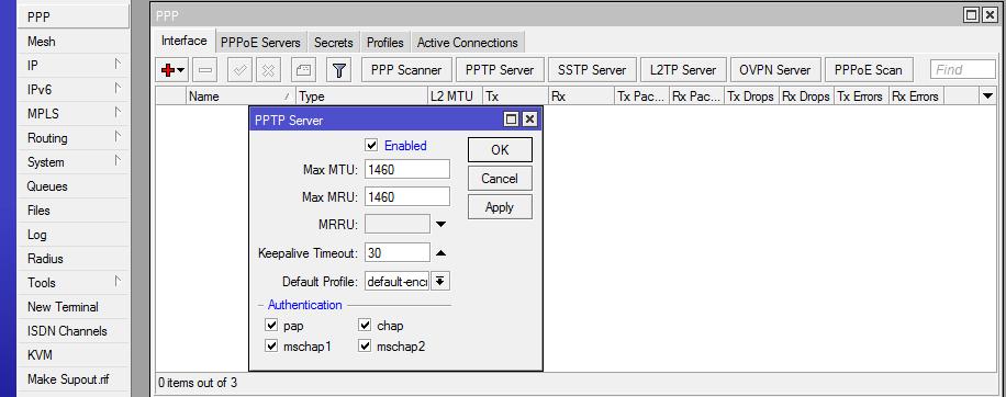 pptp-server