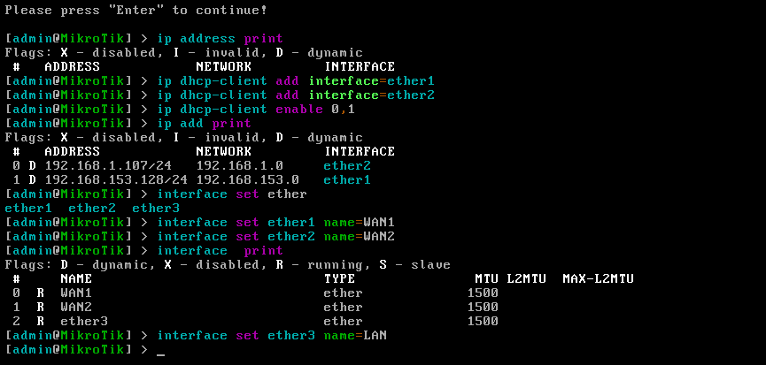 setup-interface