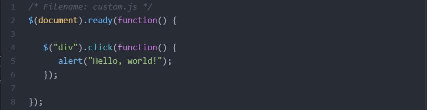 custom-script