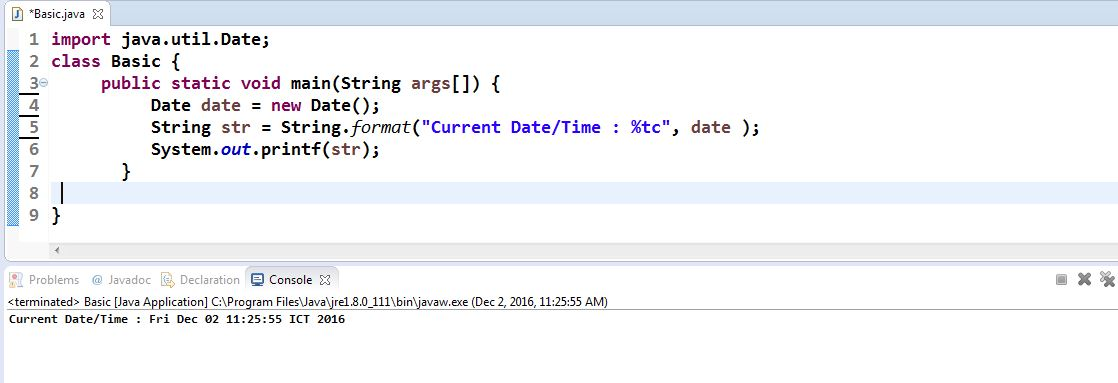 date-format-for-java-programming