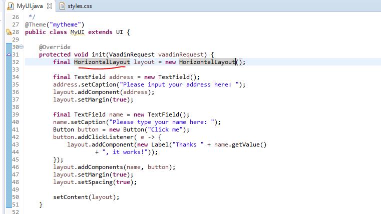 horizontalcode