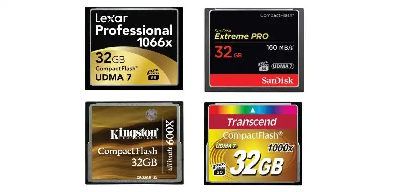 Best Compact Flash Memory Cards Top 10 Cf Cards Of 2018