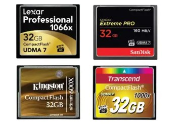 Best Compact Flash memory cards | Top 10 CF cards of 2018