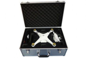Aluminum Pull Rod Case for DJI Phantom 3 Quadcopter