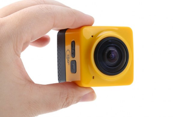 Cube 360 Degree Wide Angle WiFi Action Camera