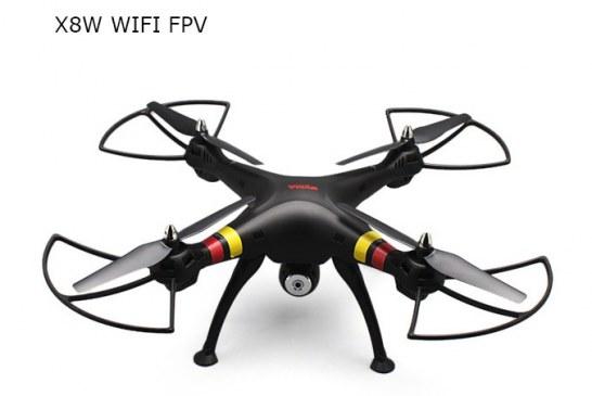 SYMA X8W WiFi FPV Headless Mode 2.4G Remote Control Quadcopter review