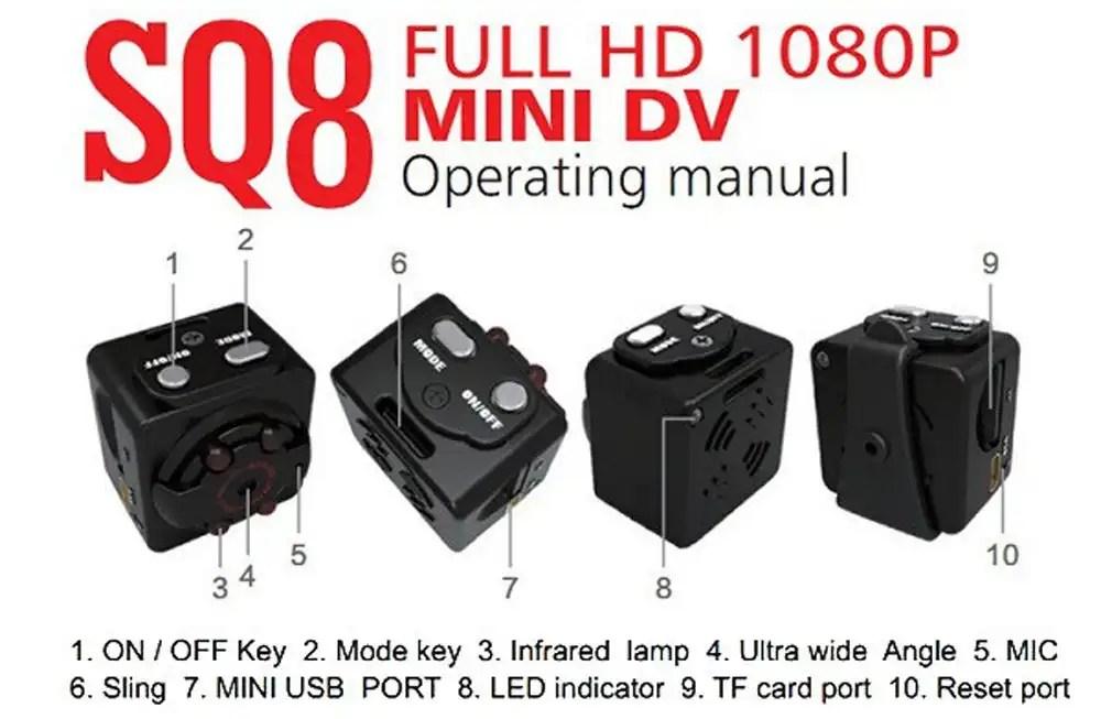 sq8 mini dv camera 1080p full hd car dvr review techfunology com rh techfunology com sq11 mini dv manual portugues mini dv md80 manual portugues