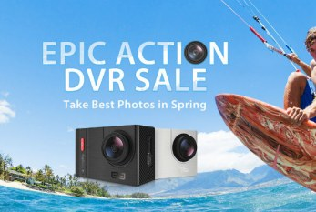 Elephone Explorer Pro & action cams promo