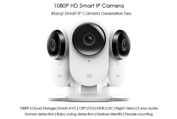 Xiaomi Xiaoyi Smart IP Camera 2 1080P review
