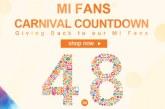 Mi Fans Carnival countdown @ Gearbest