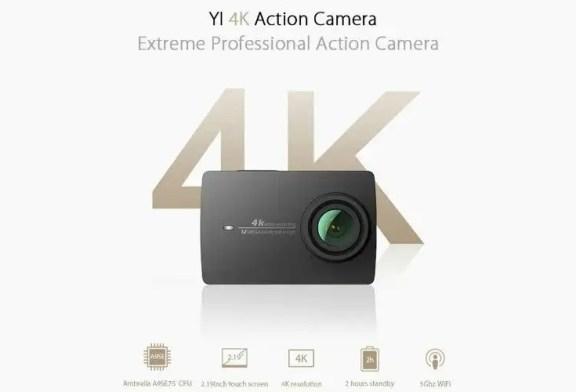 YI technology - YI 4K Action Camera review