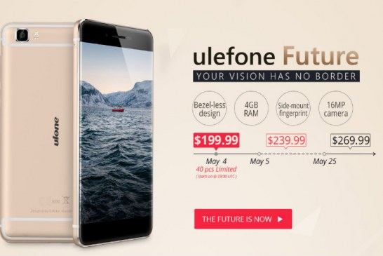 Ulefone Future – presale promotion