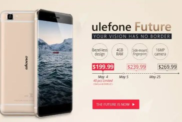Ulefone Future - presale promotion