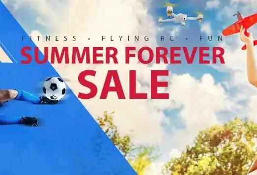 Summer sales: drones, active wear, toys