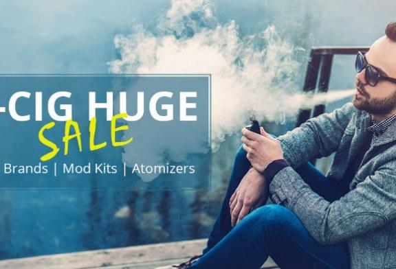 E-cigarettes sale @ Everbuying