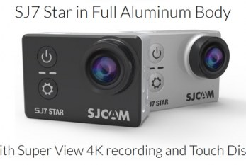 SJcam SJ7 Star review and video test