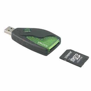 unlock a memory card