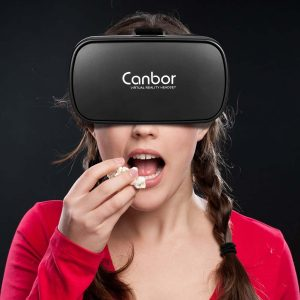 Canbor VR Headset Perfect for Virtual Reality Movies and Games