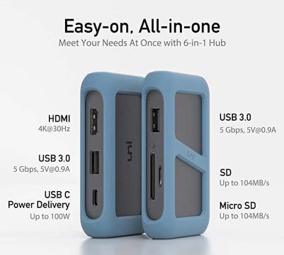 UNI USB C Adapter