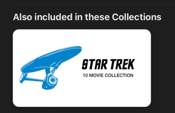 iTunes ST collection offer
