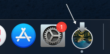 big sur install icon