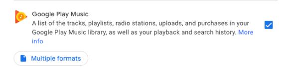 Google Takeout Google Music